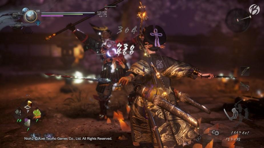 Nioh 2 - Die Kampfanimationen in den drei unterschiedlichen Kampfhaltungen sind auf Top-Niveau!