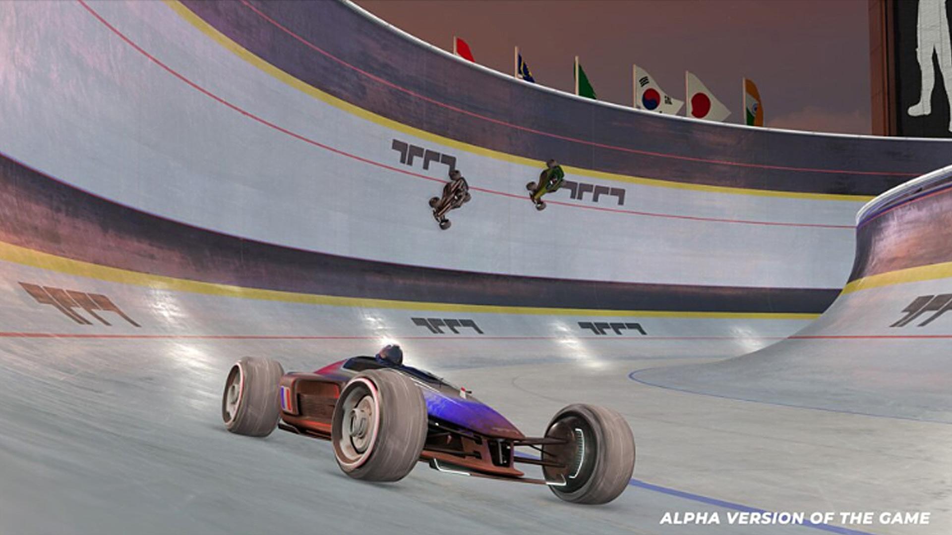 Quelle: Ubisoft Nadeo - Trackmania (Remake) - Radrennbahn-Strecke
