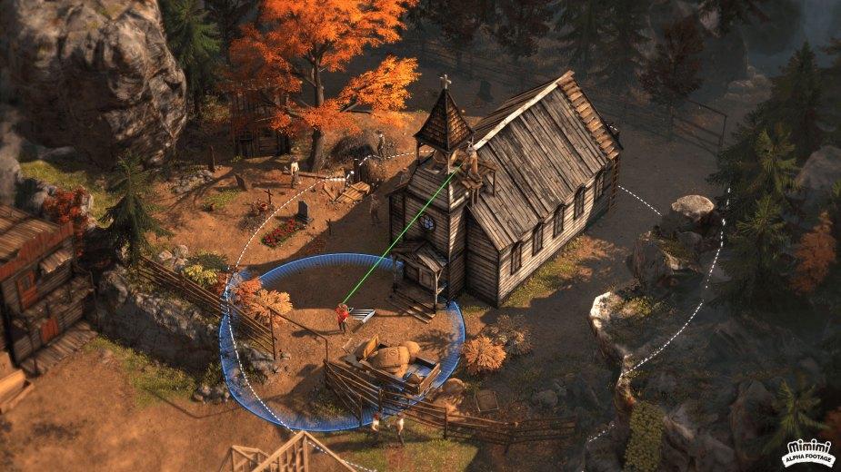 Quelle: THQ Nordic - Es gibt immer einen Sniper auf einem Kirchturm.