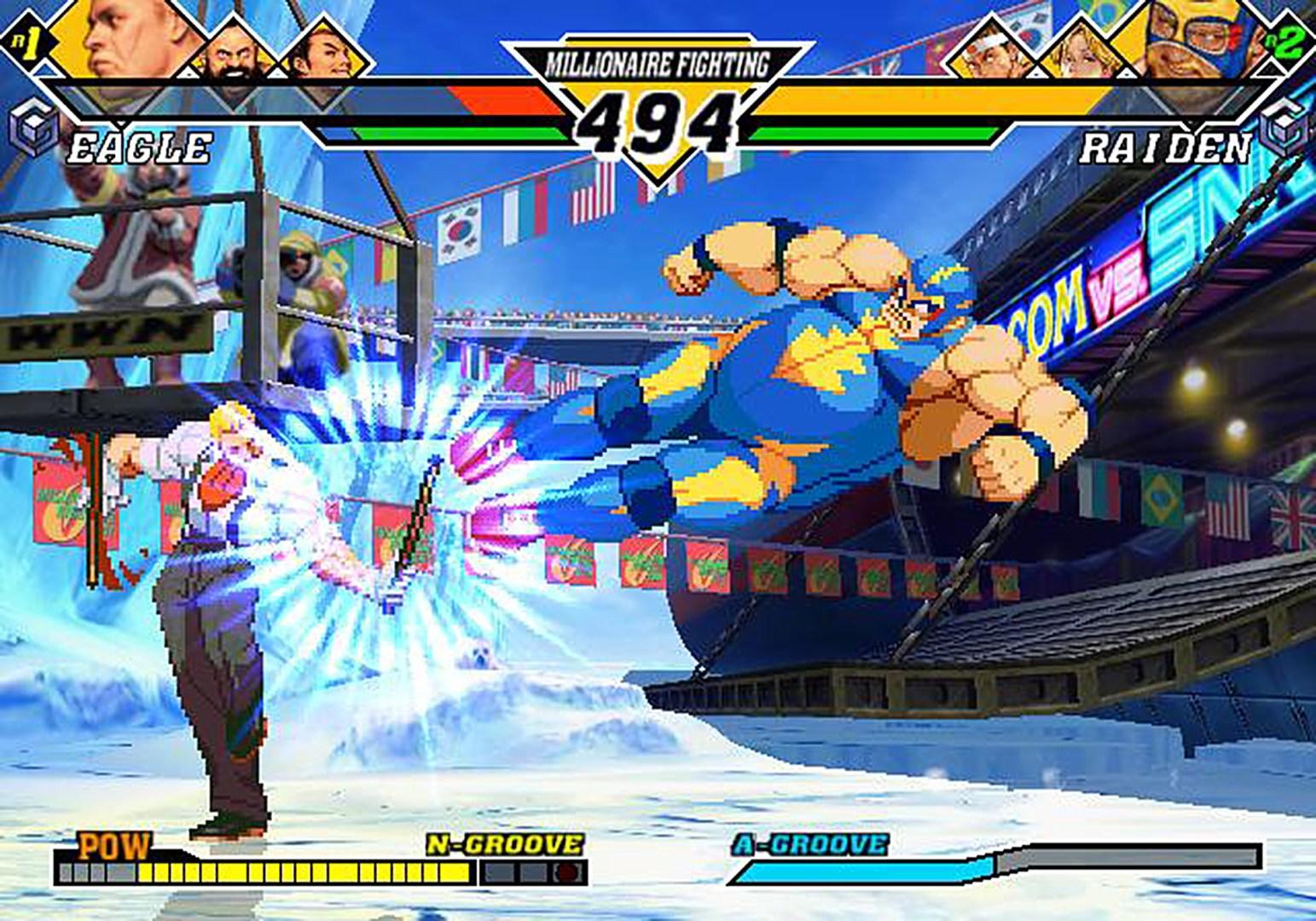 Capcom vs. SNK 2: EO - Eagle vs. Raiden