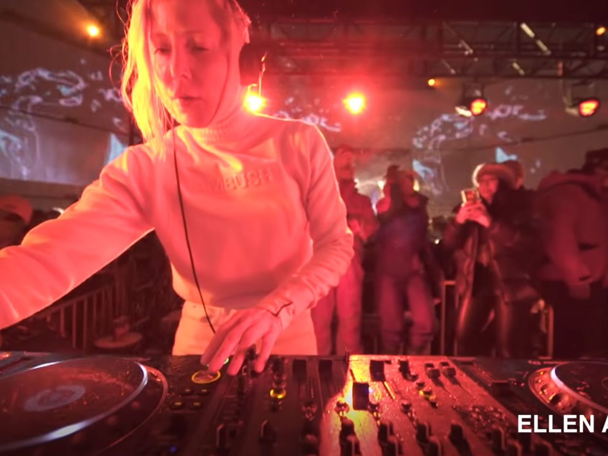 Quelle: Youtube/Boiler Room - Allen Allien - Igloofest