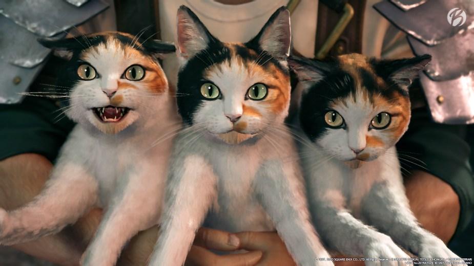 FINAL FANTASY VII (Remake) - Wer Katzen mag, wird Wedges lieben!