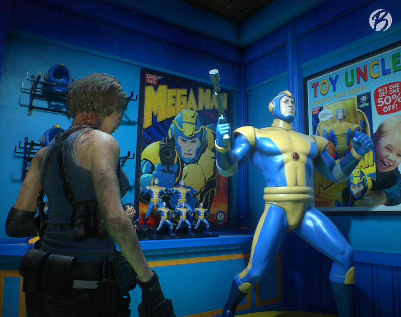 Resident Evil 3 - Mega Man Easter Egg im Spielzeugladen