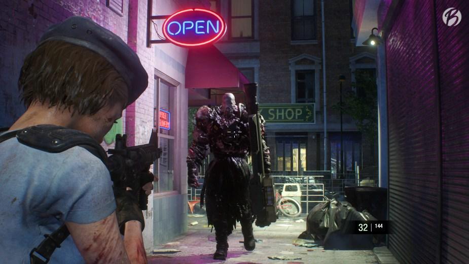 RESIDENT EVIL 3 (Remake) - Trifft man Nemesis an einer bestimmten Stelle, lässt er vielleicht was fallen!?