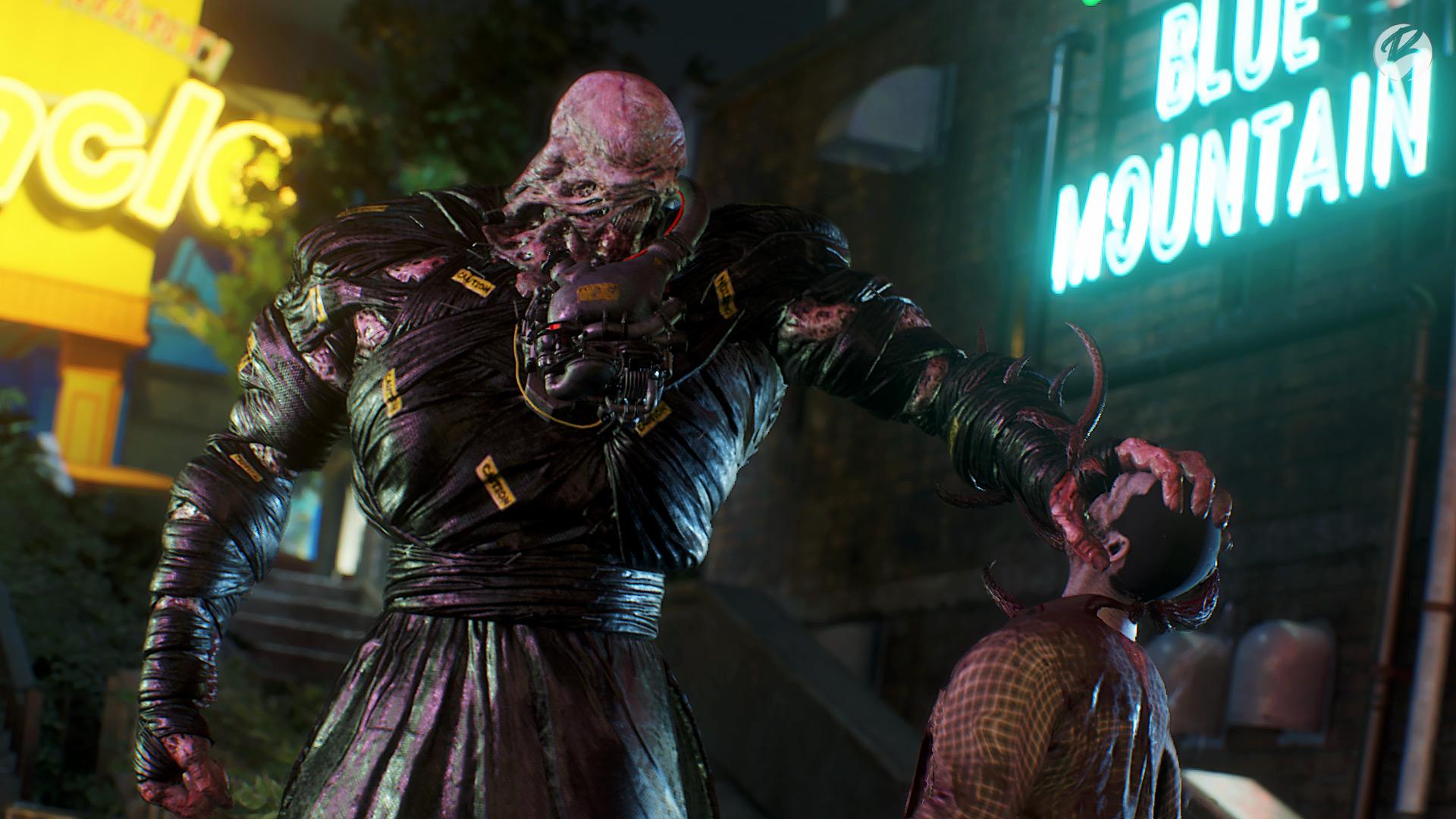 RESIDENT EVIL 3 (Remake) - Mit Nemesis Hilfe mutieren die Zombies zu noch bösartigeren Untoten.