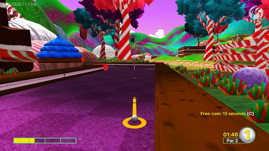 Golf With Your Friends - Karte: Candyland