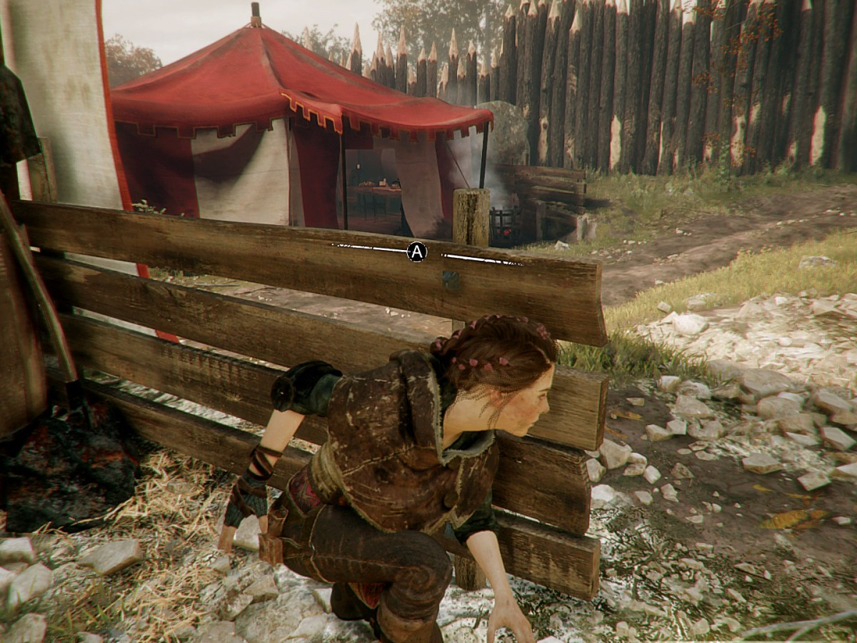 A Plague Tale: Innocence - Zelt mit Herr der Ringe Easter Egg