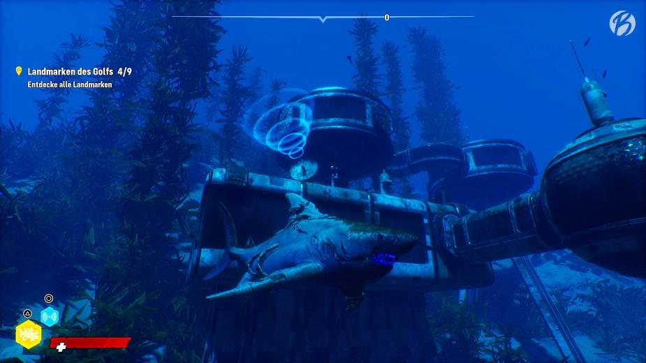 Maneater - Die Landmarken in Maneater haben mir am meisten Freude bereitet. Hier die Unterwasserstation aus James Bond 007 – Der Spion, der mich liebte.