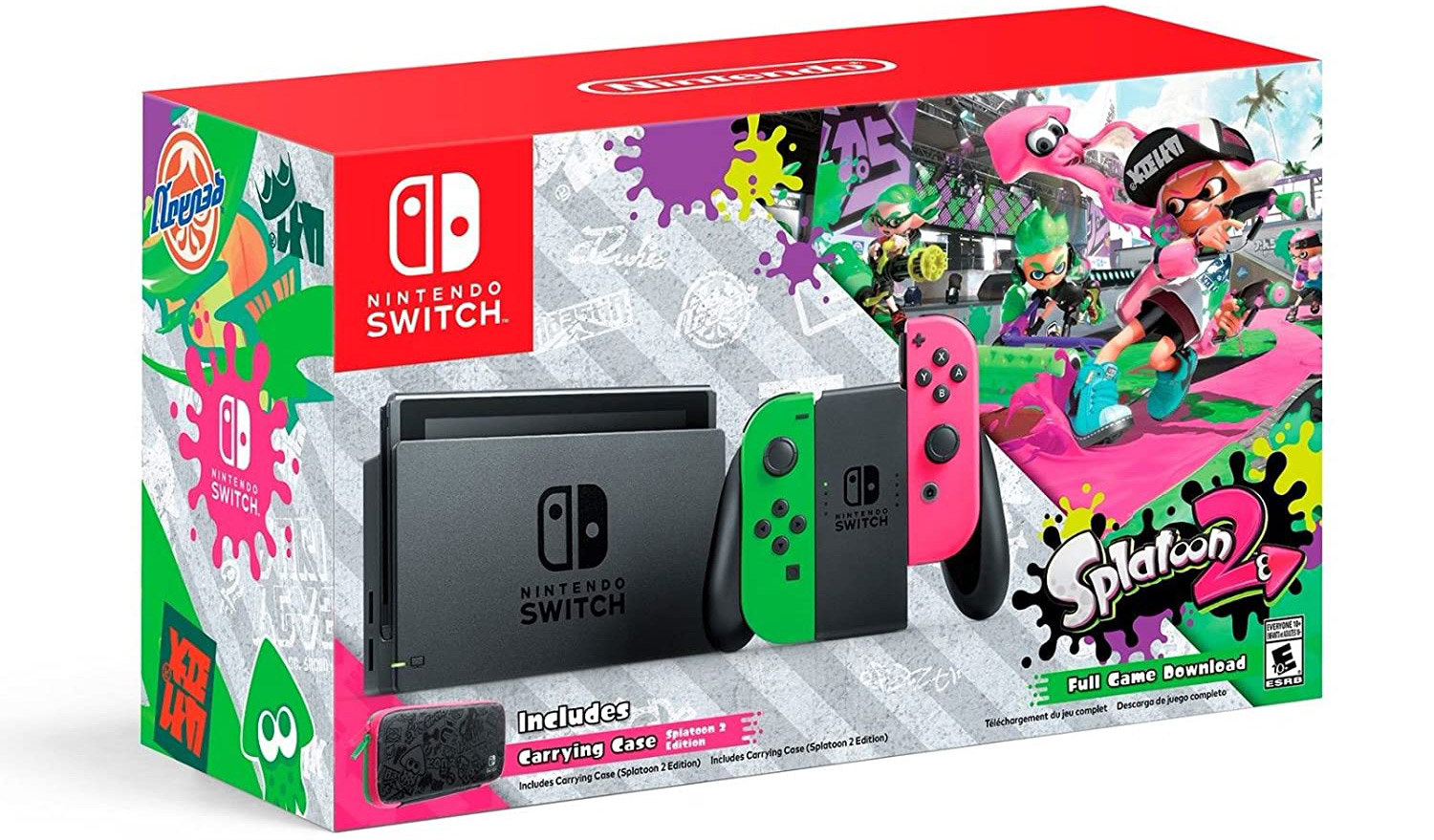 Quelle: Nintendo - Nintendo Switch: Splatoon 2 - Limited Edition