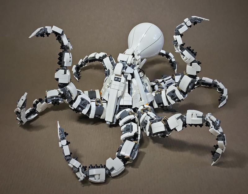 Quelle: flickr - Mitsuru Nikaido - Mecha-Octopus Mk2