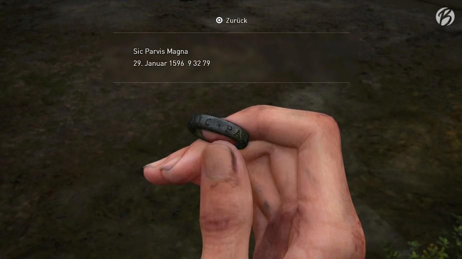 The Last of Us Part II - Nathan Drake Ring im Detail