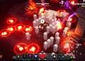 Minecraft Dungeons - Gefangen: Die Zauber der Gegner können in der Überzahl sehr schnell, sehr gefährlich werden.