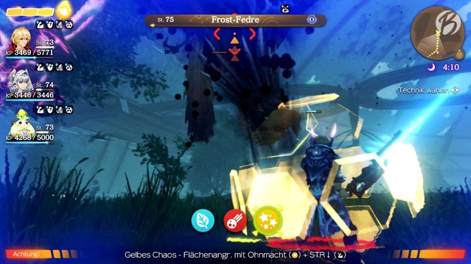 Xenoblade Chronicles: Definitive Edition (Future-Connected) - Gelbes Chaos Flächenangriff