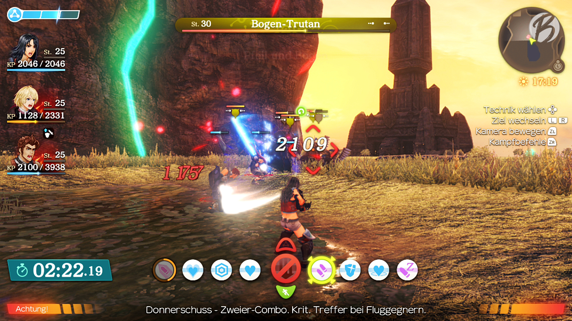 Xenoblade Chronicles: Definitive Edition - Herausforderungen