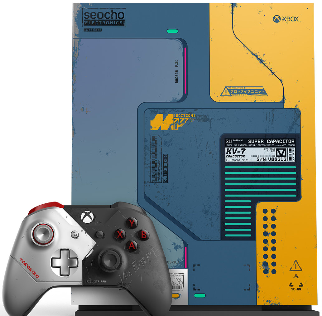 Quelle: Microsoft - Xbox One X Cyberpunk 2077 Limited Edition Bundle