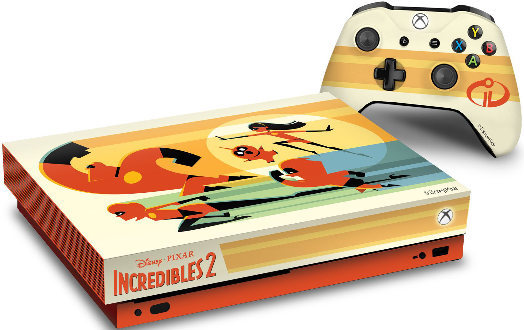 Quelle: Microsoft - Xbox One X Incredibles 2 Limited Edition