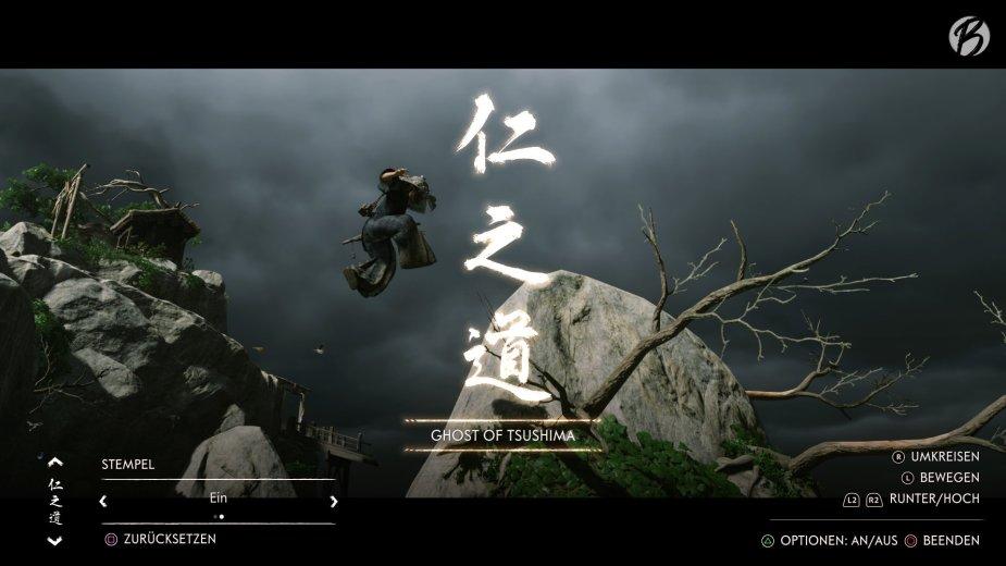 Ghost of Tsushima - Der Fotomodus ist weitaus mehr als nur ein Screenshot-Tool! Es können sogar ganze Filmsequenzen inklusive Kamerafahrten erstellt werden.