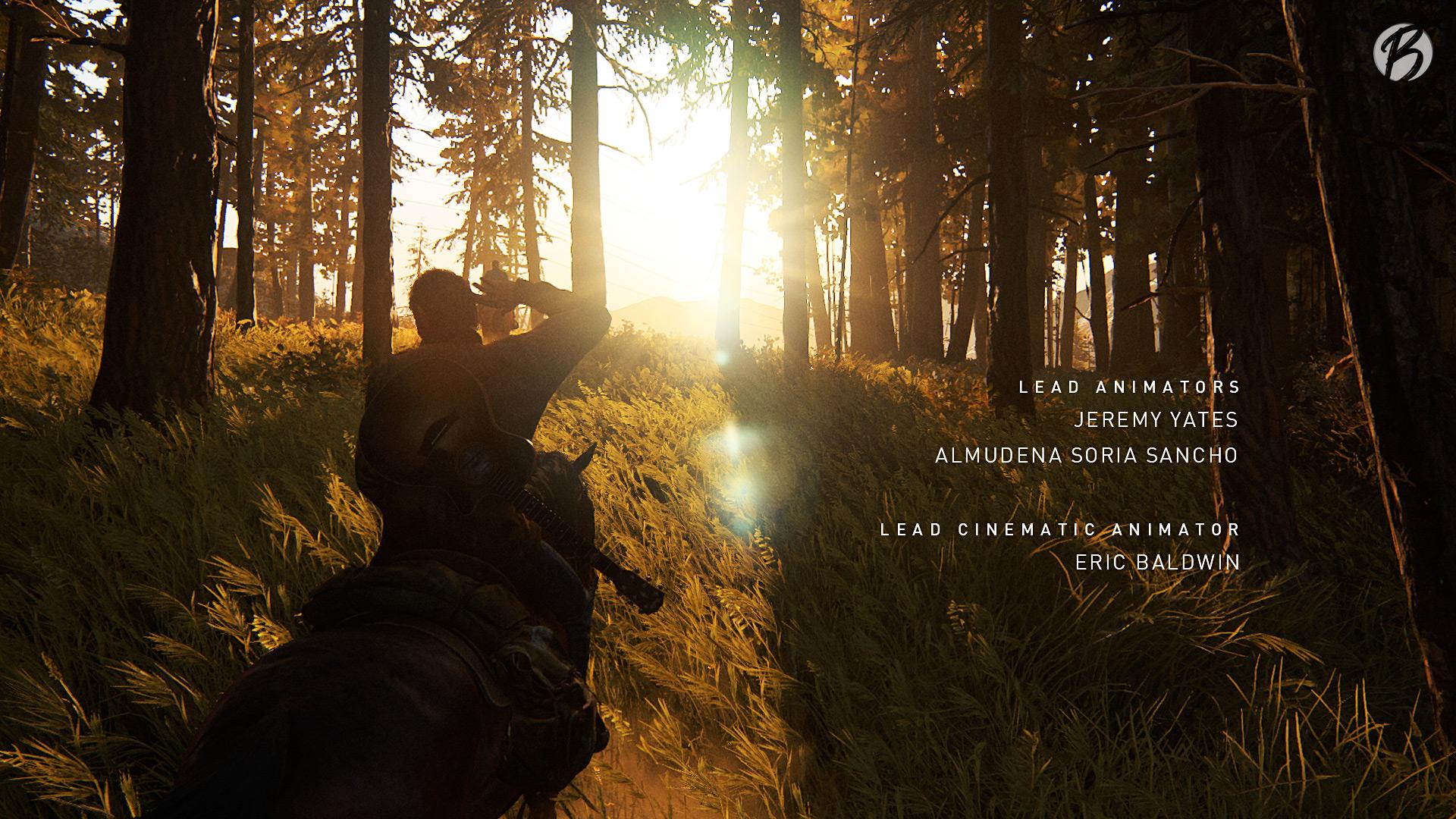 The Last of Us Part II - Zu Spielbeginn wirkt alles noch wie eine Idylle im Nirgendwo.