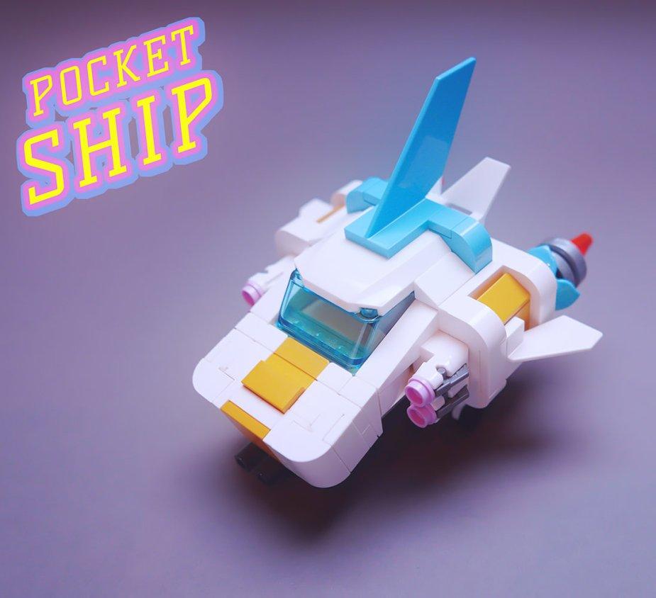 Quelle: flickr - GolPlaysWithLego - Pocket Ship