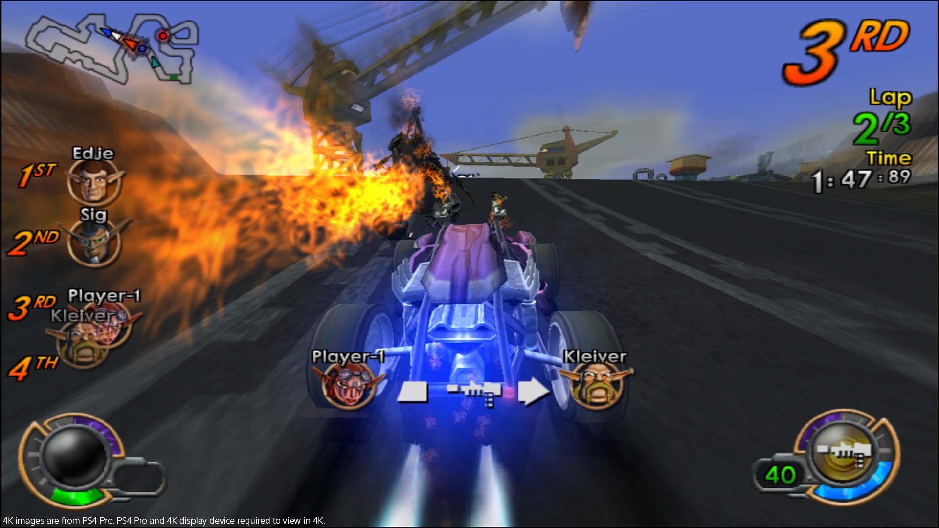 Jak X: Combat Racing (PlayStation 4 Version)