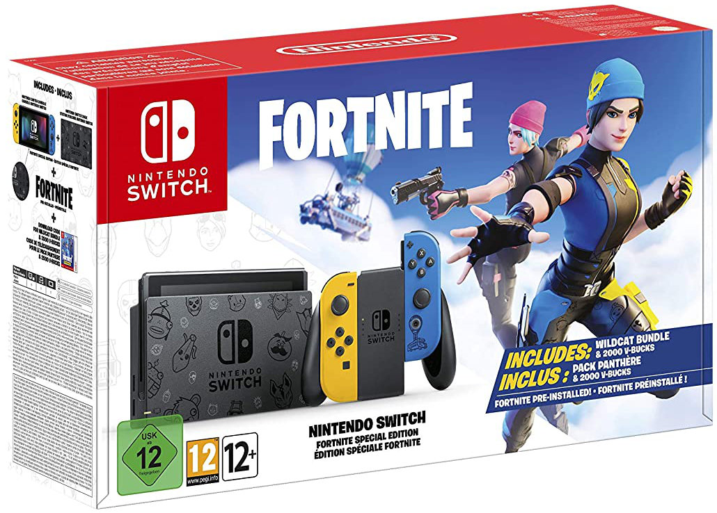 Quelle: Nintendo - Nintendo Switch Fortnite Special Edition