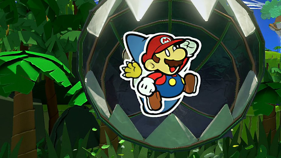 Paper Mario: The Origami King - Vorsicht bissiger Hund!