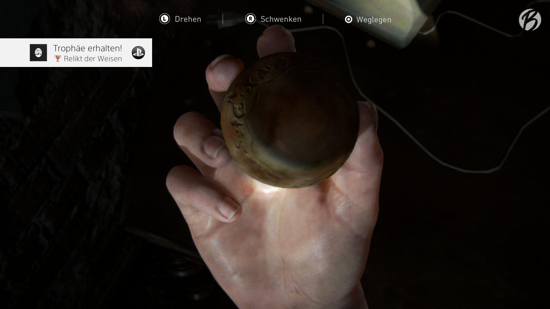 The Last of Us Part II - Trophäe: Relikt der Weisen - Jak and Daxter Precursor Orb