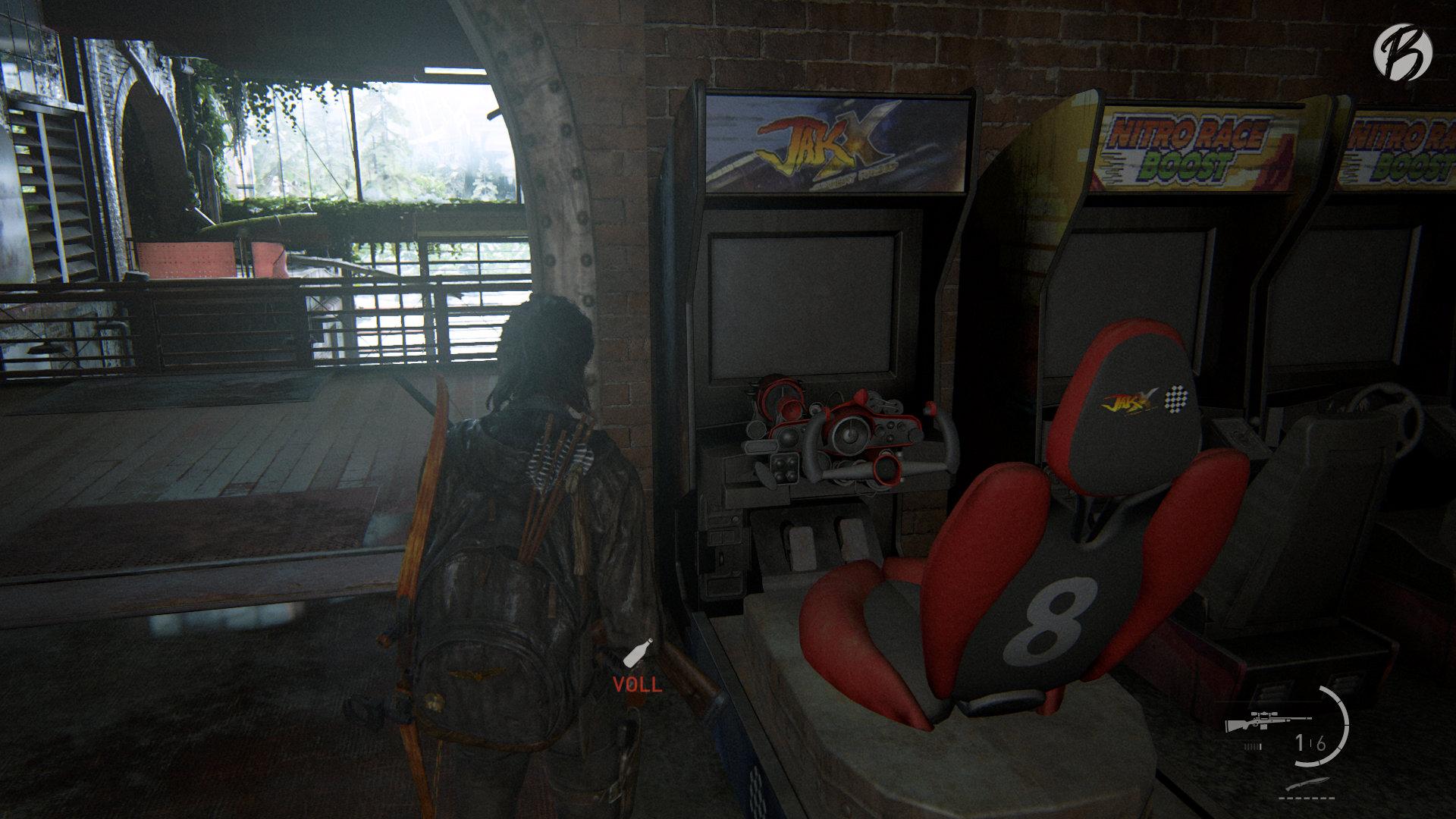 The Last of Us Part II - Spielautomat: Jak X: Combat Racing