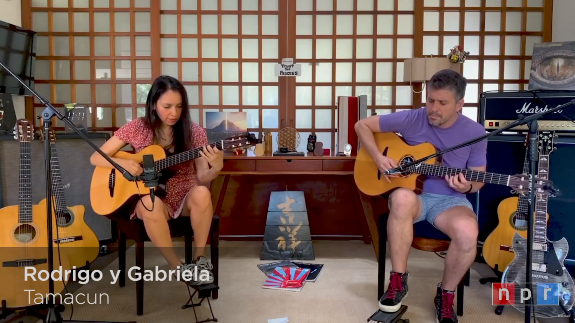 Quelle: NPR Music Tiny Desk Concert - Rodrigo y Gabriela: Tiny Desk (Home) Concert