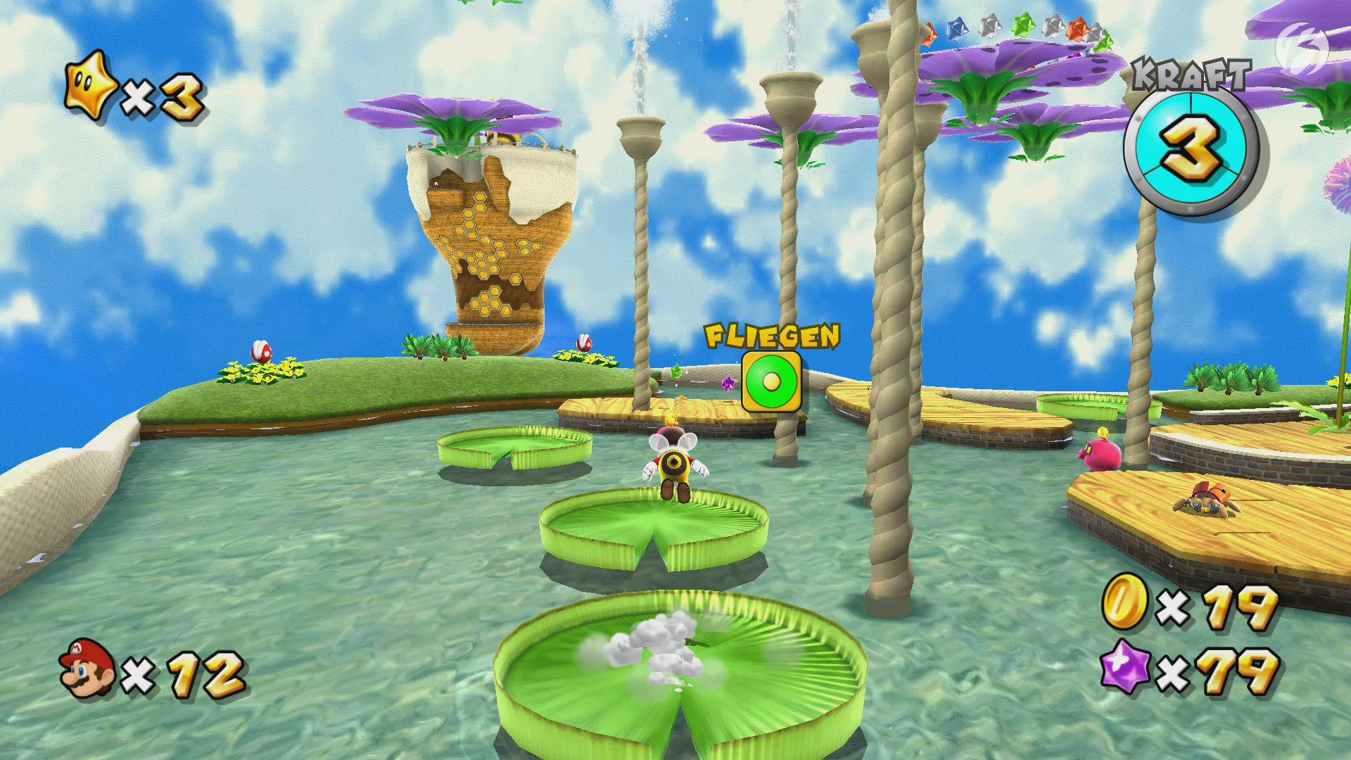 Super Mario 3D All-Stars - Super Mario Galaxy - Bienen-Mario mag kein Wasser!