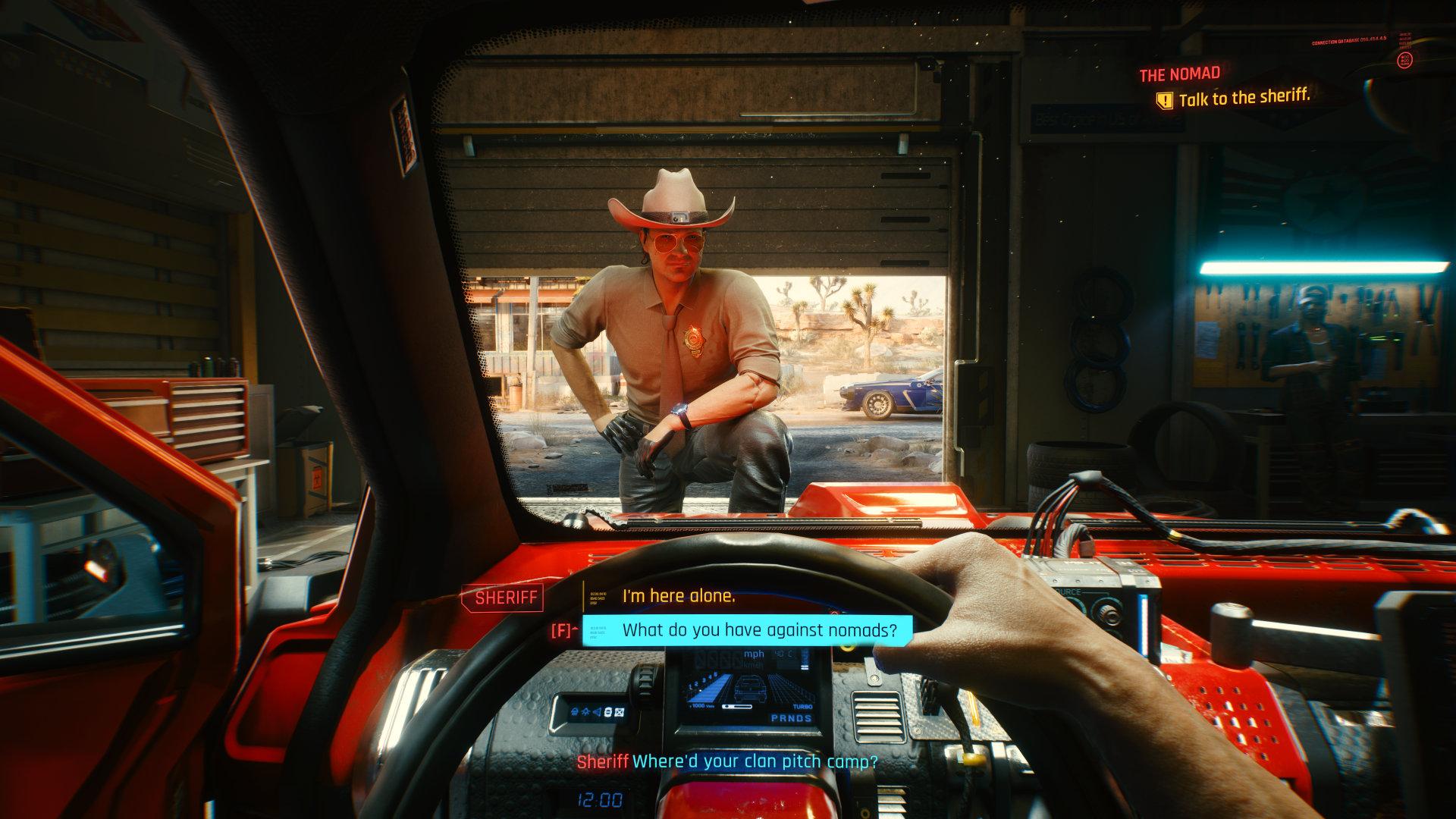 Quelle: CPR - Cyberpunk 2077 - Unterhaltung mit dem Sheriff