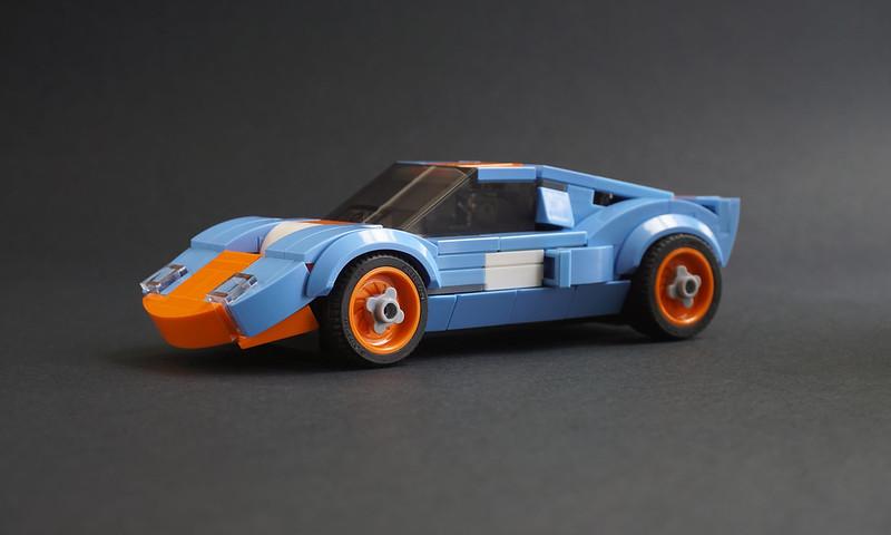 Jonathan Elliott - LEGO Gulf Racing Ford GT40 mk1