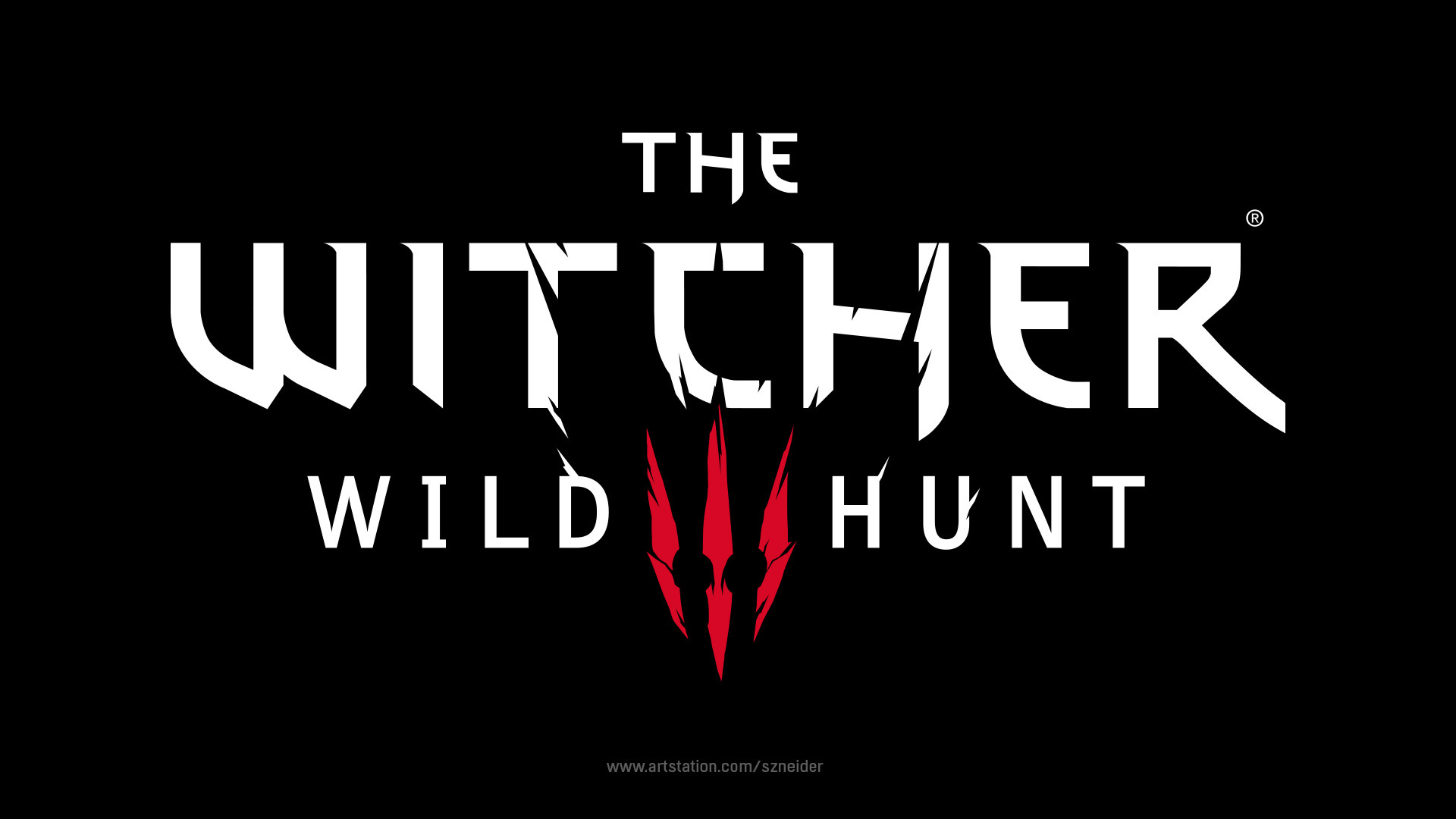 Benedykt Szneider - Logo Design - The Witcher 3: Wild Hunt