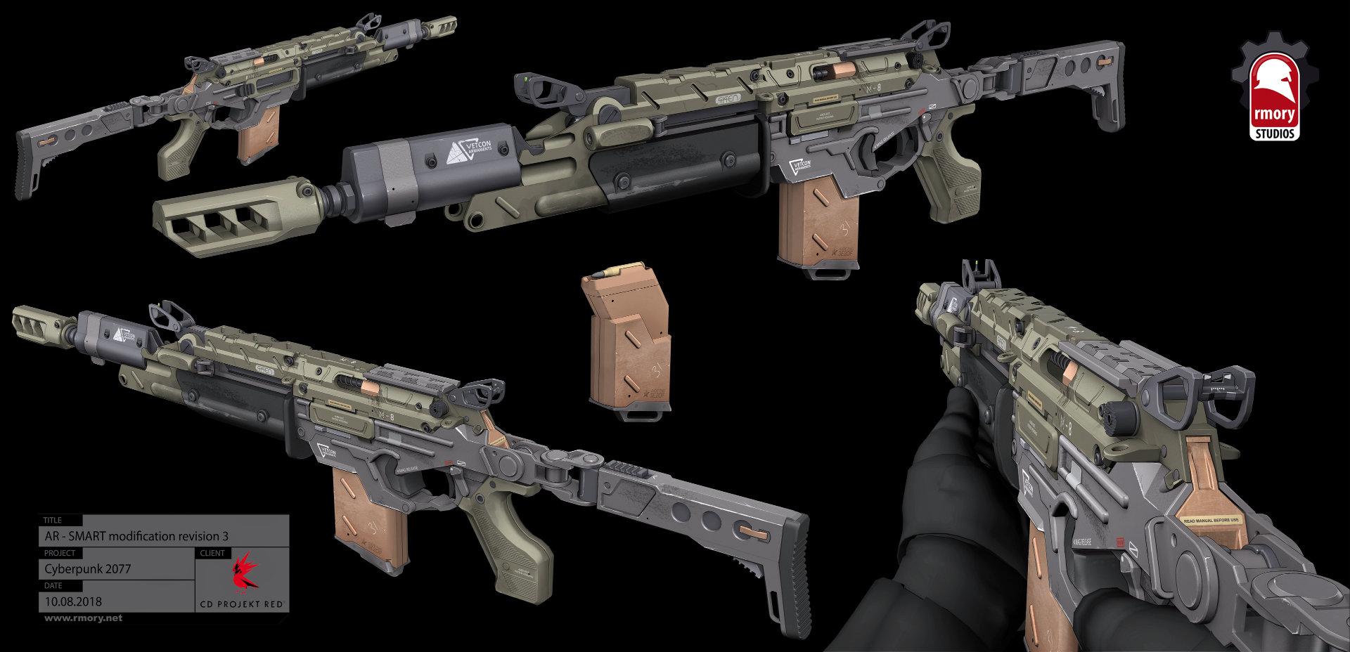 Quelle: Artstation - Kris Thaler - Cyberpunk 2077 AR Power 3D Modell