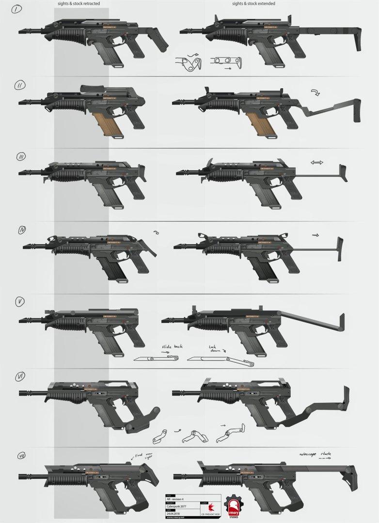 Quelle: Artstation - Kris Thaler - Cyberpunk 2077 AR Stock Varianten