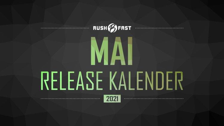 rushBfast - Game-Release-Kalender: Mai 2021