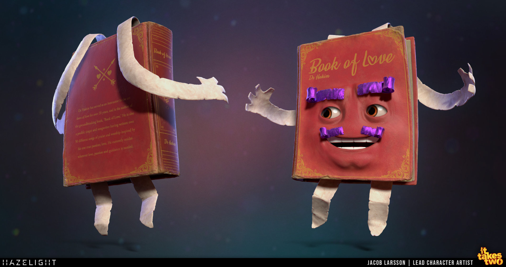 Quelle: Artstation - Jacob Larsson - Book of Love
