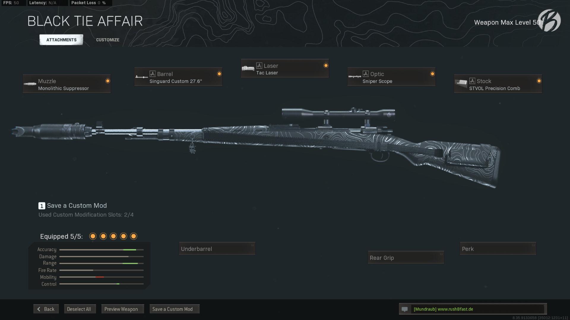 Call of Duty Warzone - Cold War Season 3 - Kar98k