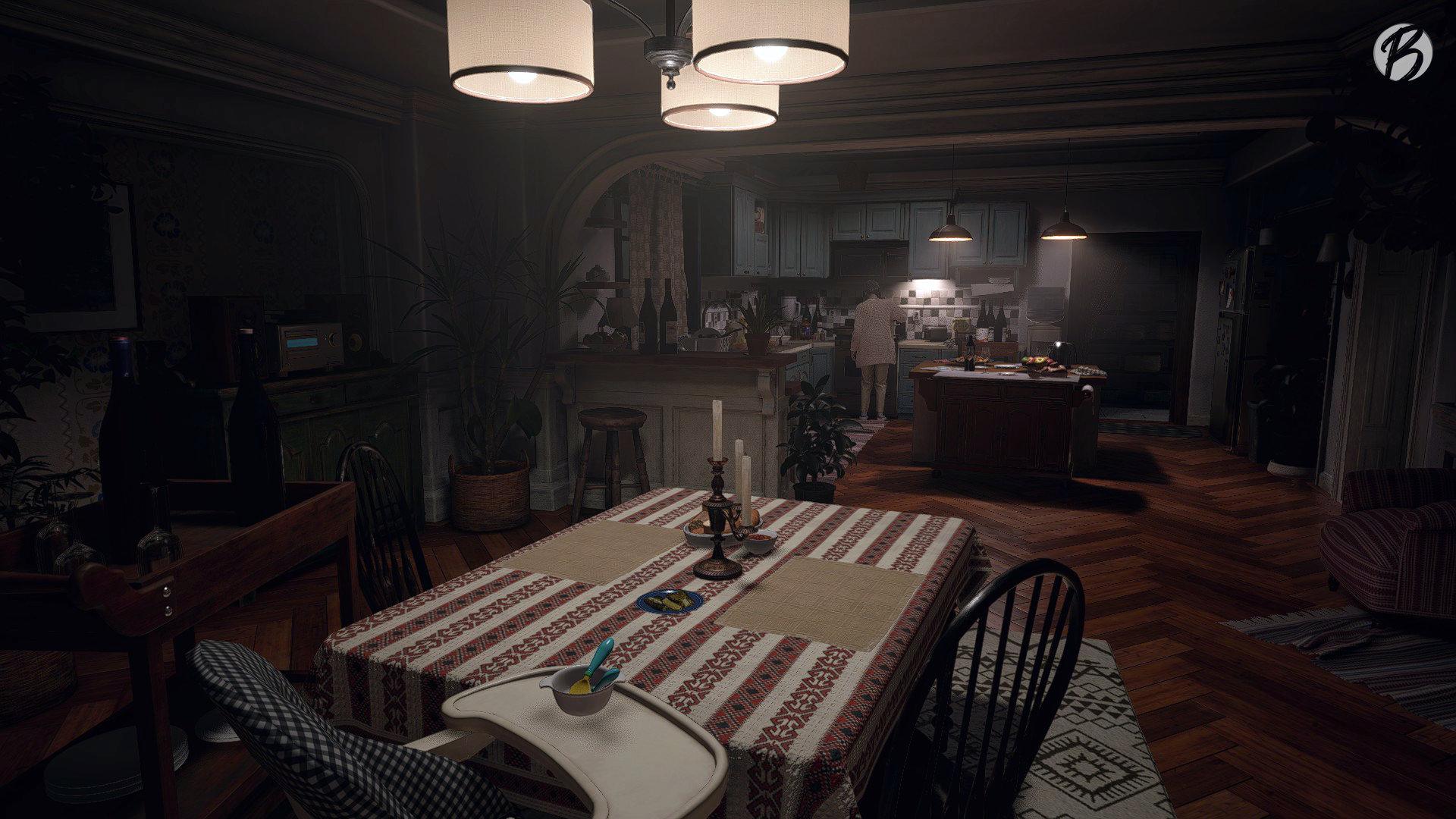 Resident Evil Village - Über die Wattzahl der Glühbirnen lässt sich streiten.