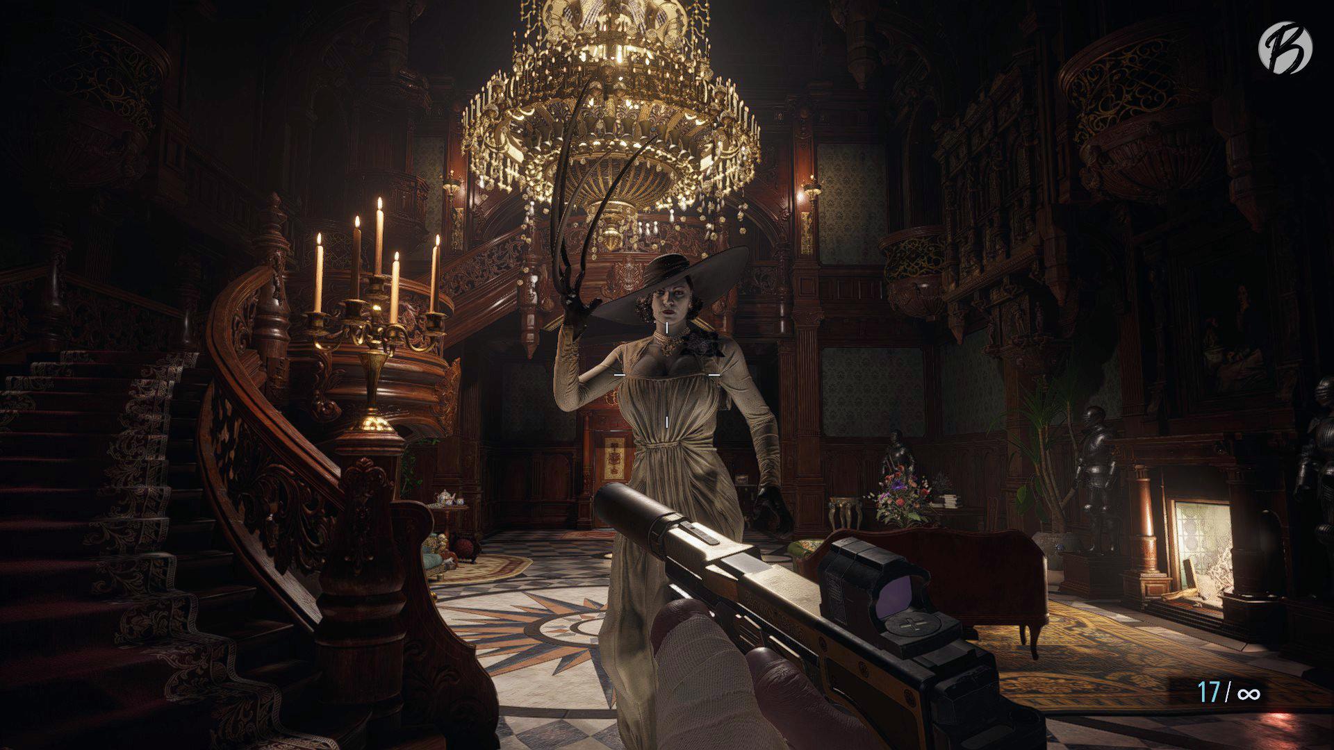 Resident Evil Village - Nicht nur die Größe von Lady Dimitrescu ist beängstigend.