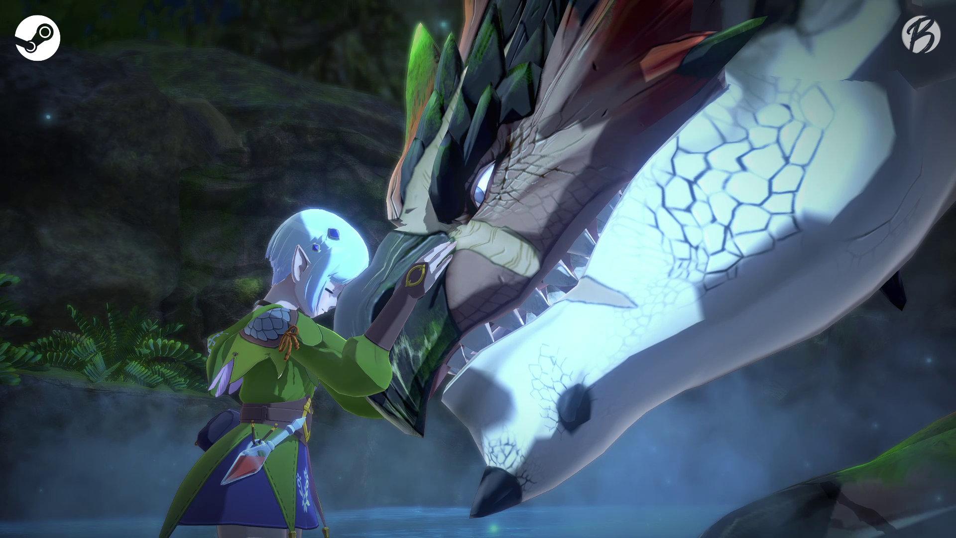 Monster Hunter Stories 2: WoR - PC-Vergleich - Sequenz