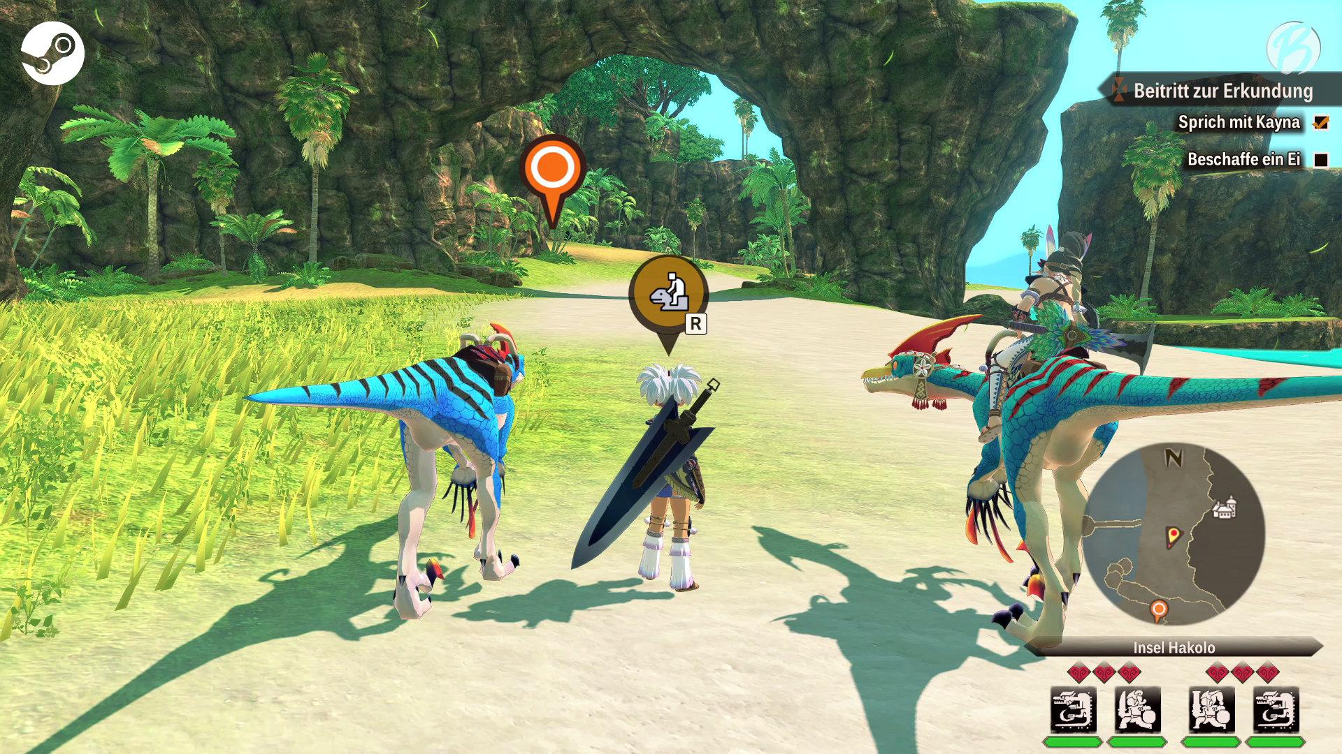 Monster Hunter Stories 2: WoR - PC-Vergleich - Spielwelt