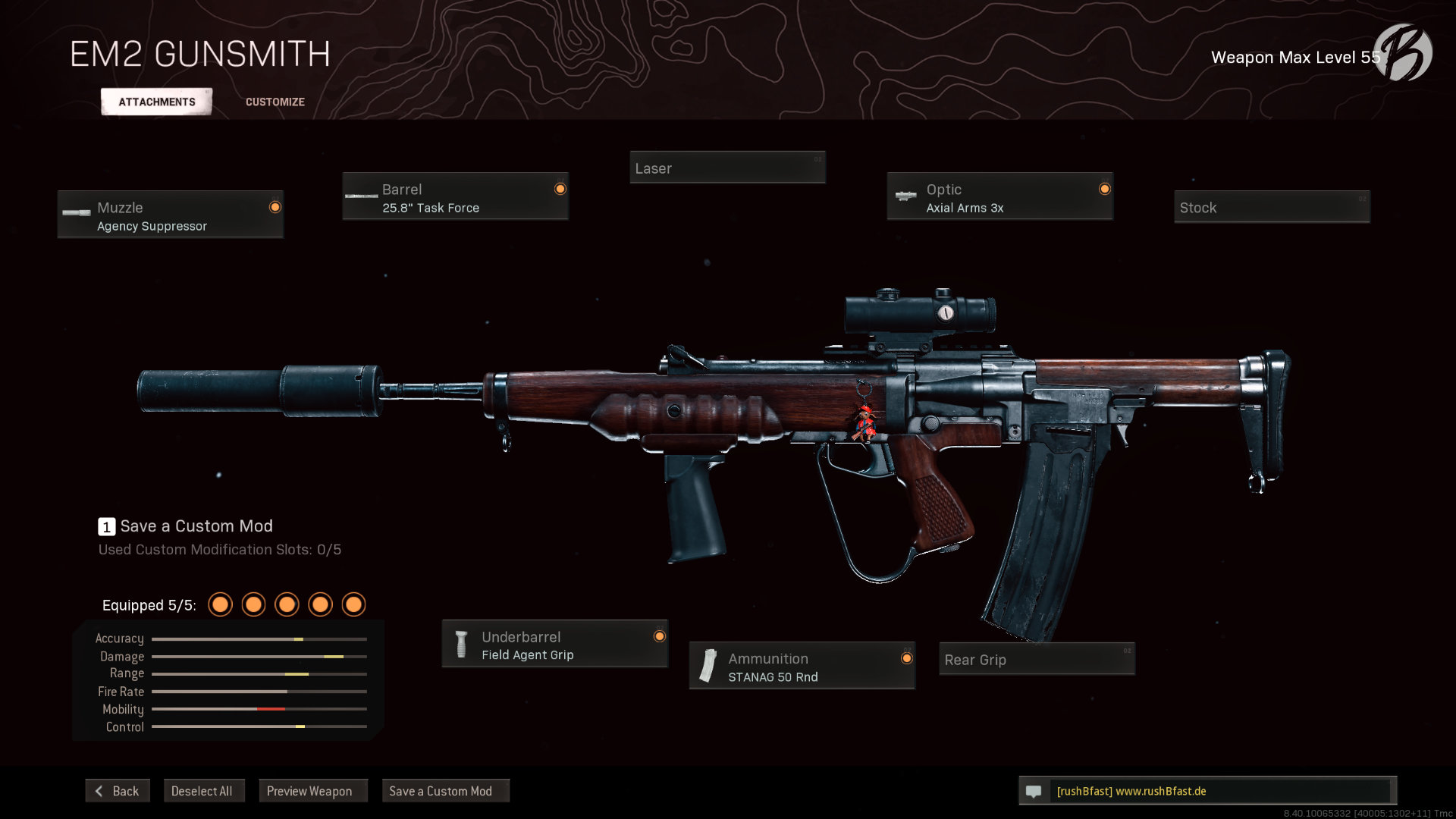 Call of Duty Warzone - Cold War Season 5 - EM2 (englisch)