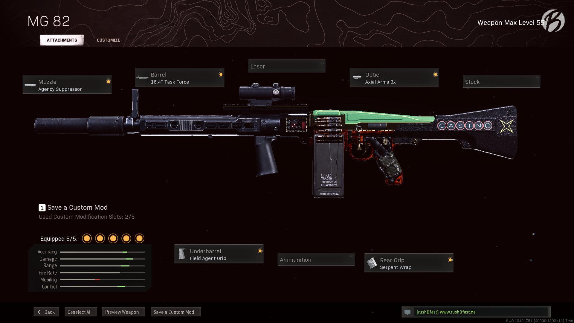 Call of Duty Warzone - Cold War Season 5 - MG 82 (englisch)