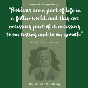Rushdoony Quote 14