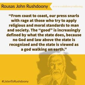 Rushdoony Quote 26