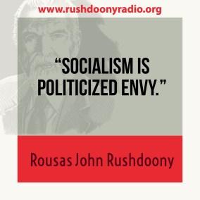 Rushdoony Quote 6