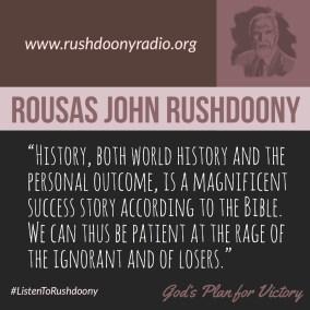 Rushdoony Quote 61