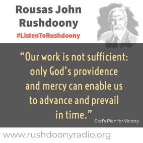 Rushdoony Quote 62