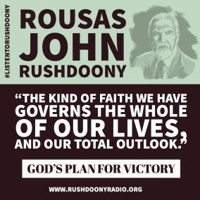 Rushdoony Quote 63